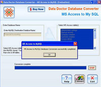 MS Access DB to MySQL Conversion tool