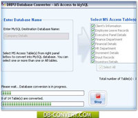 Access Database To MySQL Converter