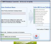 Access Database To MySQL Converter