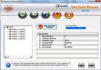 NTFS Partition Retrieval Tool