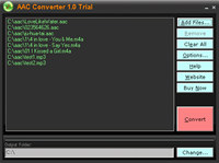 AAC Converter screenshot medium