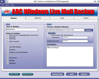 ABC Windows Live Mail Backup