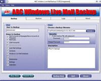 ABC Windows Live Mail Backup
