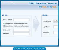 MSSQL to MySQL Database Converter Ex