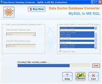 MySQL to MSSQL DB Converter