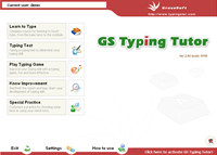 GS Typing Tutor Network