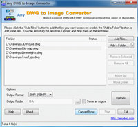 DWG to JPG Converter 2008.2 screenshot medium