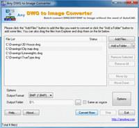 DWG to JPG Converter 2008.2 screenshot medium