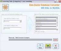 MSSQL DB to MySQL Migrator