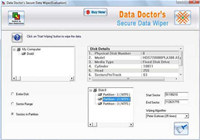 Disk Data Wiping Tool