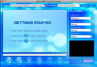 MPEG To iPod Converter for MAC(PPC)