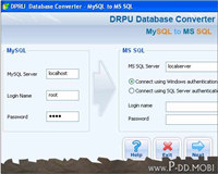 MySQL to MSSQL Conversion Tool