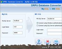 MySQL to MSSQL Conversion Tool