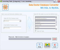 Convert MS SQL Database to MySQL