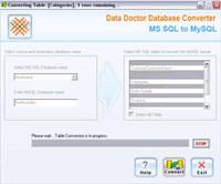 Convert MS SQL Database to MySQL