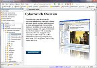 CyberArticle screenshot medium