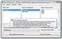MS Access Change Text Case to Uppercase Lowercase Propercase and Sentence Case