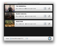 iFunia DVD to Apple TV Converter for Mac screenshot medium