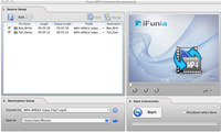 iFunia MP4 Converter for Mac