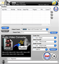 Abdio Audio Video Converter screenshot medium