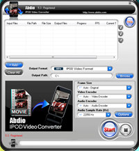 Abdio IPOD Video Converter