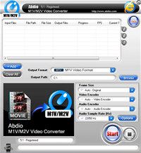 Abdio M1V M2V Video Converter