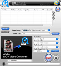 Abdio MOV Video Converter
