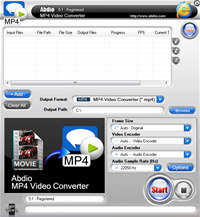 Abdio MP4 Video Converter