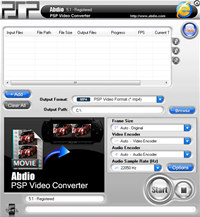 Abdio PSP Video Converter