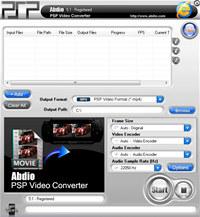 Abdio PSP Video Converter