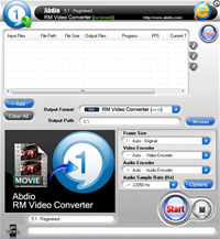 Abdio RM Video Converter