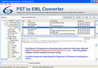 Convert PST to EML Tool