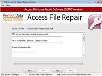 Perfect Data Solutions Access Repair screenshot medium