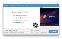 Tipard Video Converter for Mac screenshot medium