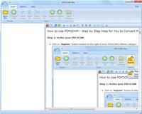 PDF2CHM 2012 screenshot medium