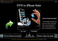 4Easysoft DVD to iPhone Suite