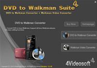 4Videosoft DVD to Walkman Suite