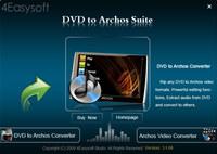4Easysoft DVD to Archos Suite
