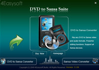 4Easysoft DVD to Sansa Suite
