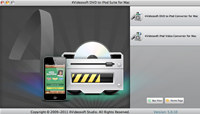4Videosoft DVD to iPod Suite for Mac