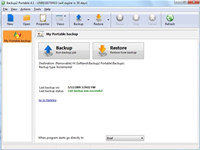 Portable Rebrandable Backup Software