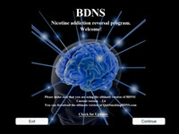BDNS - Nicotine addiction reversal
