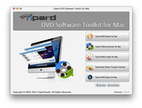 Tipard DVD Software Toolkit for Mac screenshot medium