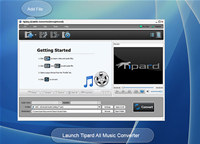 Tipard All Music Converter screenshot medium