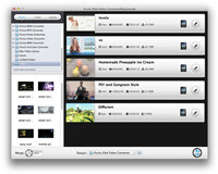 iFunia iPad Video Converter for Mac