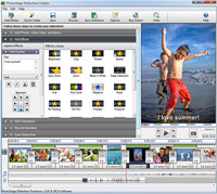 PhotoStage Free Photo Slideshow Software screenshot medium