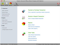 Express Accounts Accounting Software for Mac screenshot medium