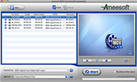 Aneesoft MOV Converter for Mac