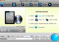 Bigasoft DVD to iPad Converter for Mac