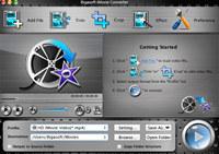 Bigasoft iMovie Converter for Mac screenshot medium